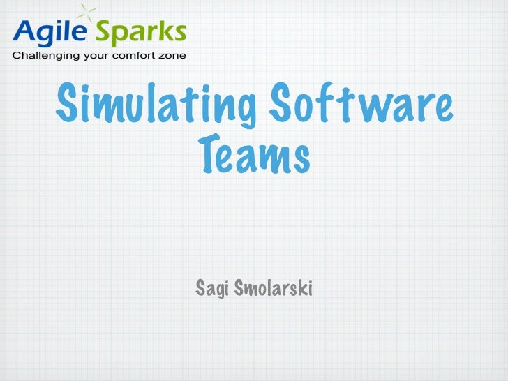 Simulating Software Teams
