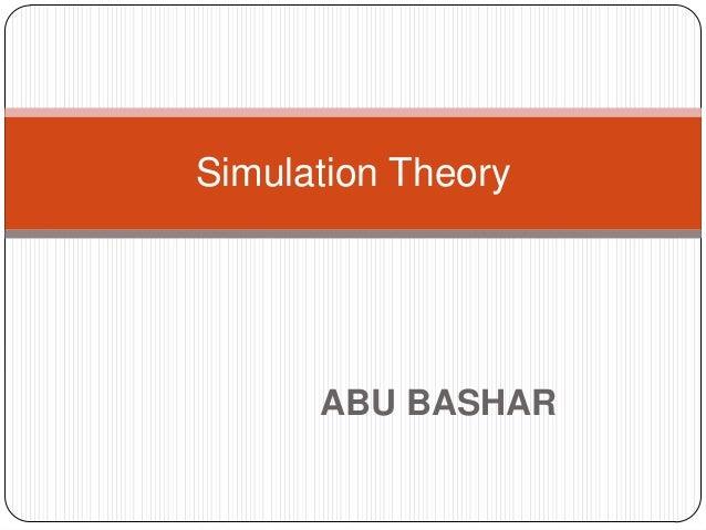Simulation Theory      ABU BASHAR