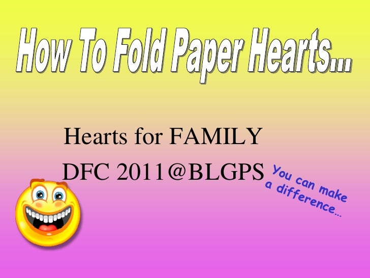 Sin eng-22 - hearts for family instructions to fold paper hearts