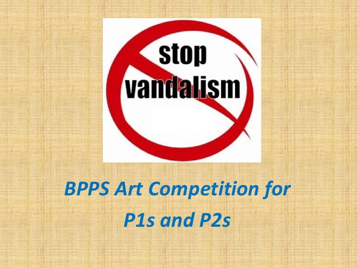 sBPPS Art Competition for      P1s and P2s
