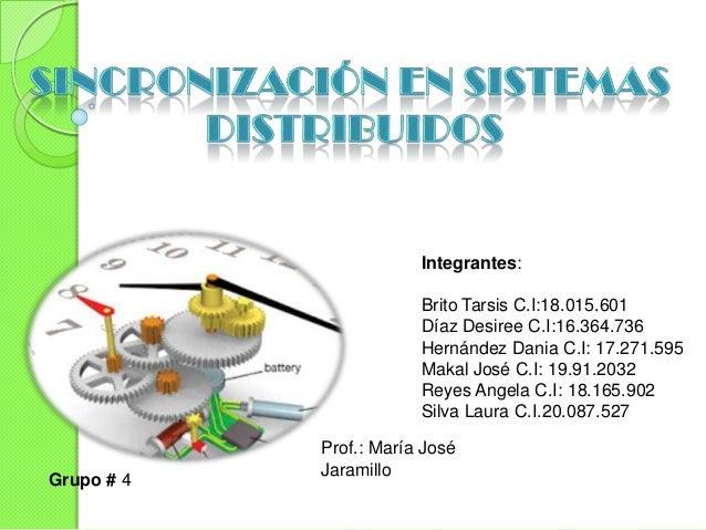 Integrantes:                        Brito Tarsis C.I:18.015.601                        Díaz Desiree C.I:16.364.736        ...