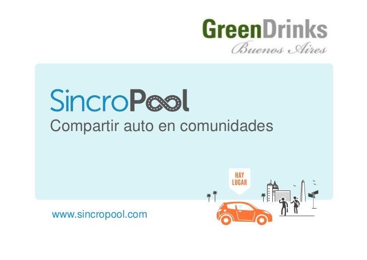 Compartir auto en comunidadeswww.sincropool.comwww.sincropool.com