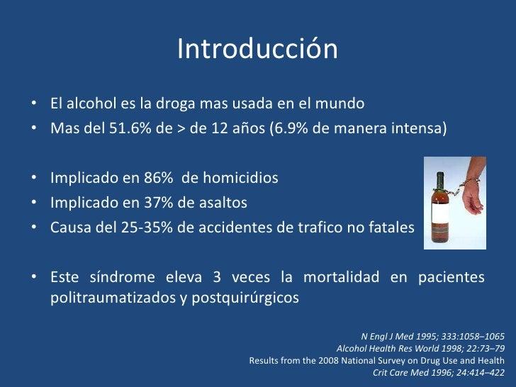 El tratamiento medicamentoso del alcoholismo hasta