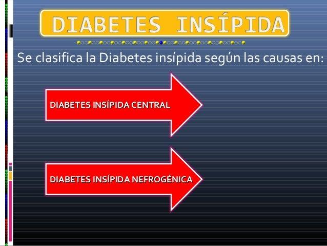 Sindrome de cushing diabetes insípida
