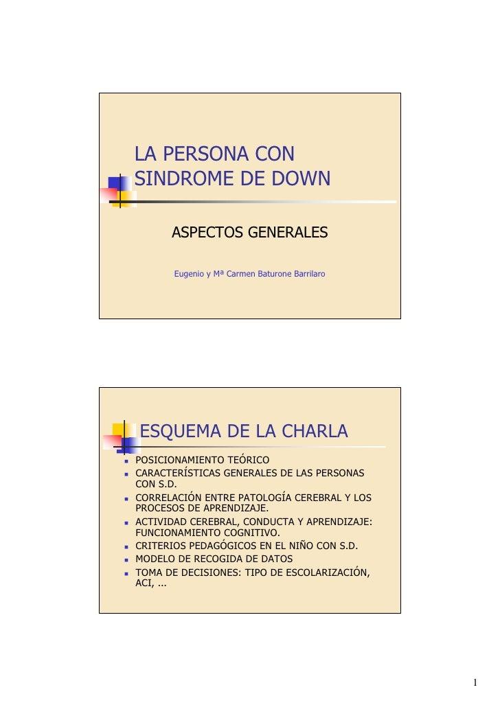 Sindrome De Down.Ppt