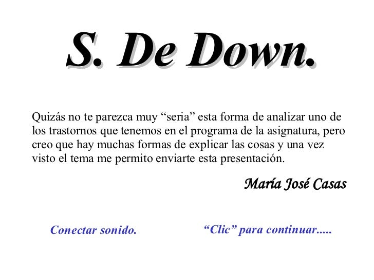 Sindromede Down 1