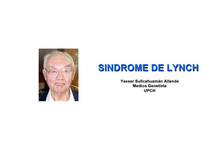 Sindrome De Lynch Final
