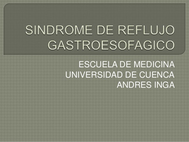 ESCUELA DE MEDICINAUNIVERSIDAD DE CUENCA          ANDRES INGA