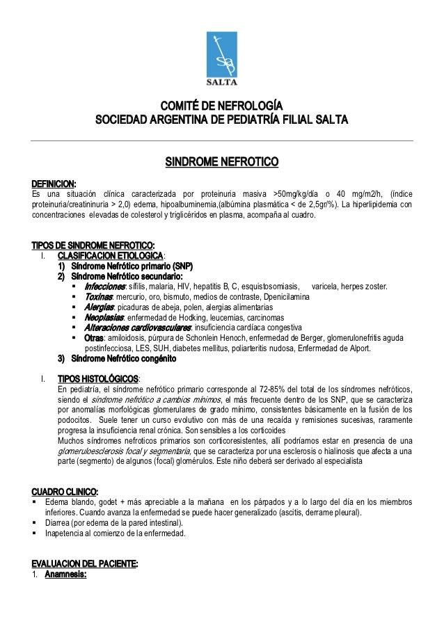 COMITÉ DENEFROLOGÍA                     SOCIEDADARGENTINADEPEDIATRÍAFILIALSALTA                                   ...