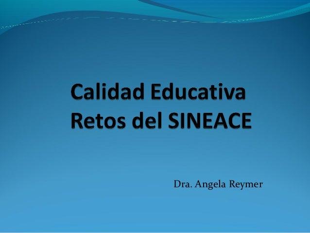 Dra. Angela Reymer