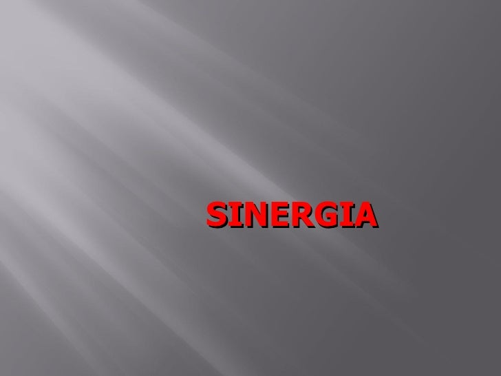 SINERGIA
