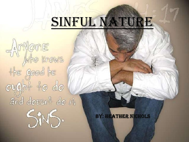 Sinful Nature<br />By: Heather Nichols<br />