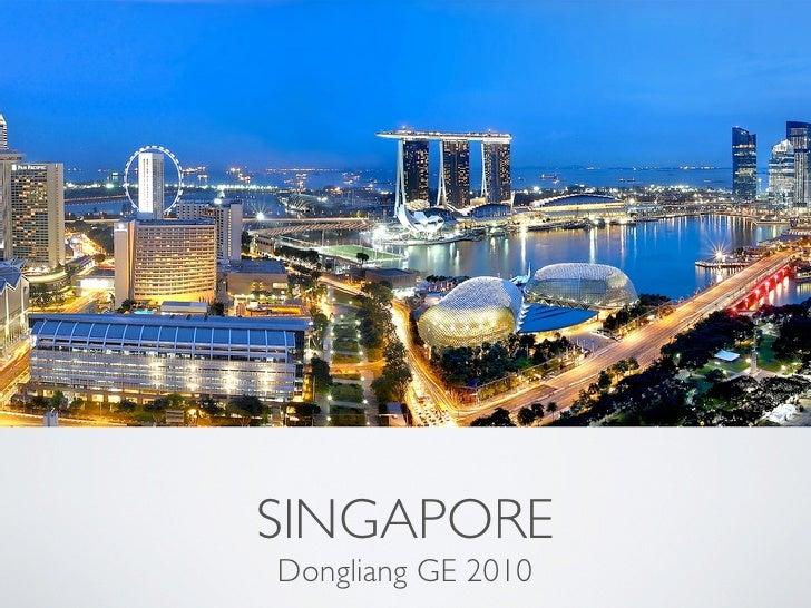 SINGAPOREDongliang GE 2010