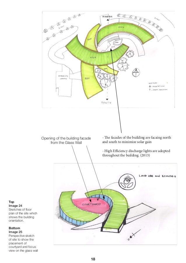 Nanyang technological university school of art design and media build - Building orientation to optimize sun exposure ...