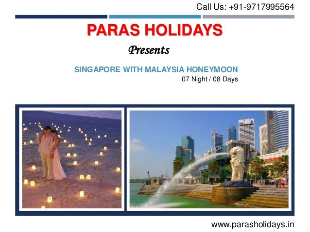 Singapore Malaysia Honeymoon Packages