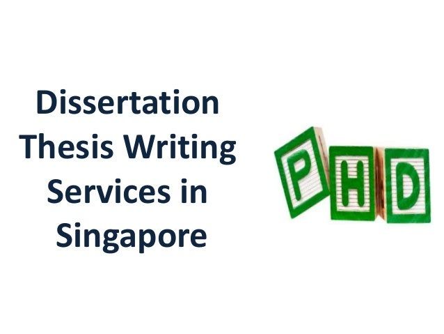 Thesis writing service singapore
