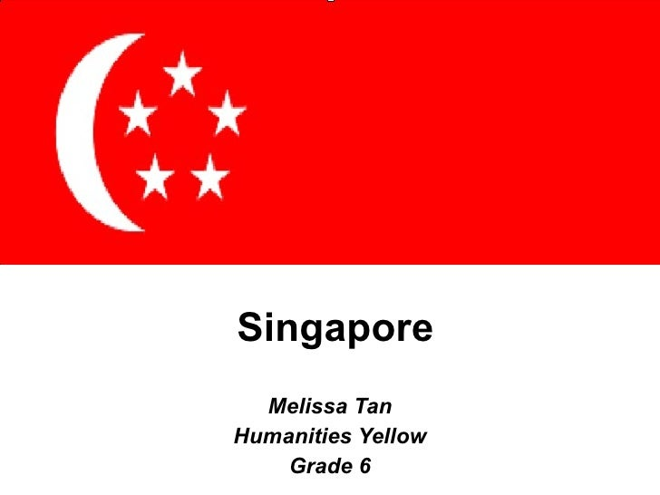 Singapore Melissa Tan Humanities Yellow Grade 6