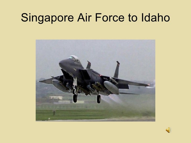 Singapore Air Force in Idaho