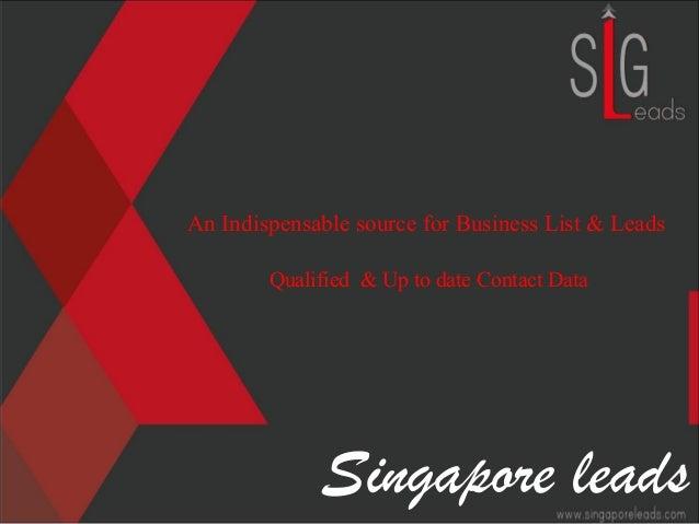 Singapore Leads