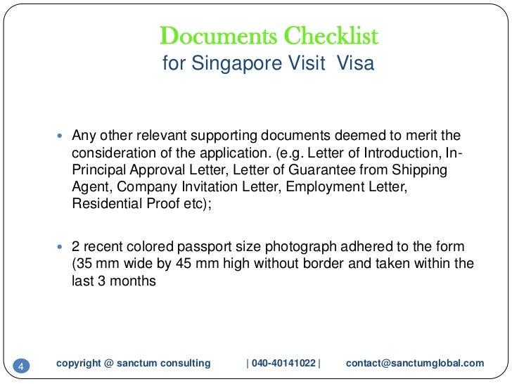 Sample Cover Letter For Tourist Visa Australia