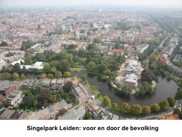 Singelpark Leiden: voor en door de bevolking