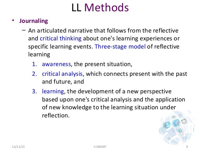 critical thinking journal articles