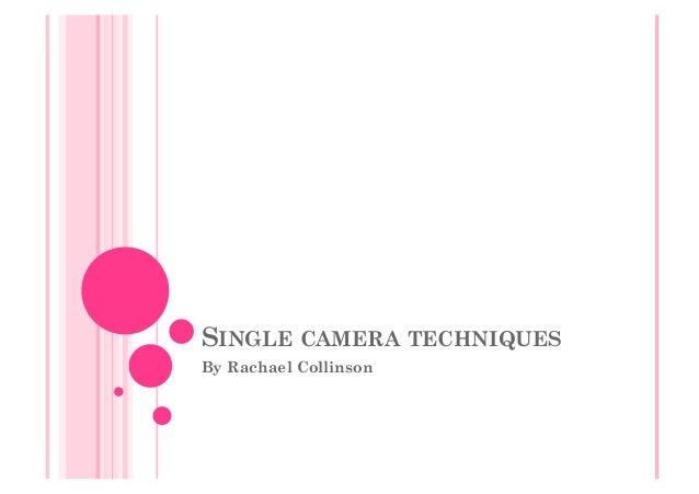 Single Camera Techniques Essay – 238098