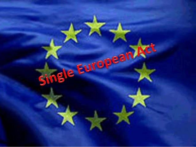 InformationThe Single European Act (SEA) was the first major revision of the 1957 Treaty or Rome.The Act set the European ...