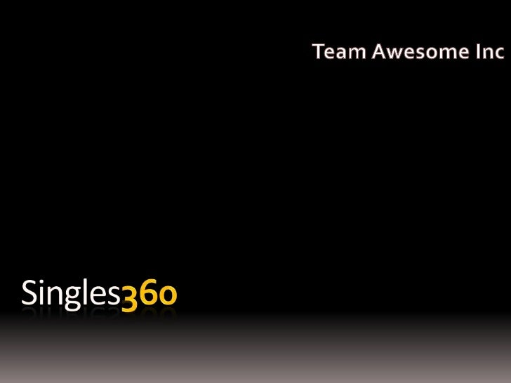 Directi Case Study Contest - Singles 360 by Team Awesome from IIM A