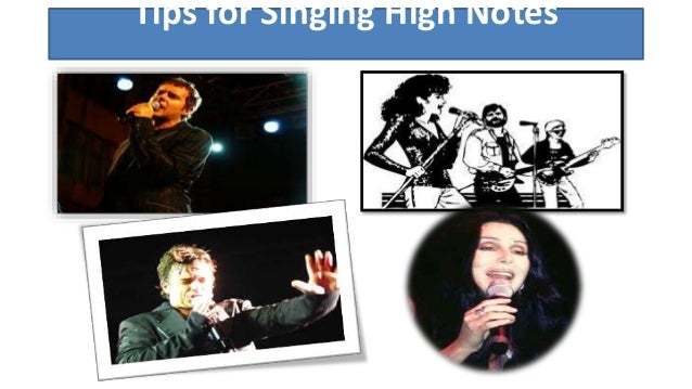 how to sing high notes with power