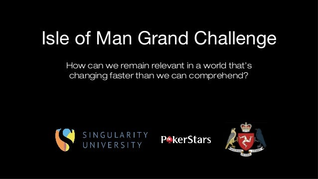 Isle of Man Grand Challenge - Singularity University Knowledge Transfer