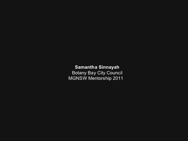 Samantha Sinnayah, Curator, George Hanna Memorial Museum (WPCC, NMA and regional road trip)