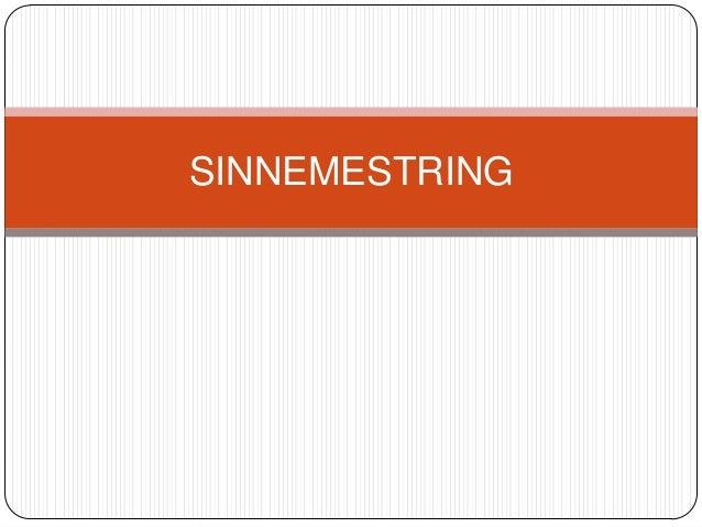 SINNEMESTRING