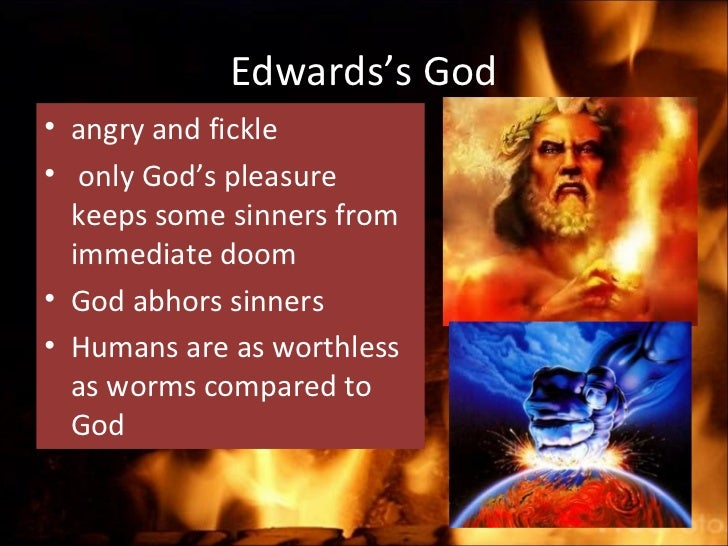 an analysis of hands of an angry gd I made this video for the students at echs who would like to listen to the sermon rather than read it this video includes an intro and an excerpt from the famous sermon by jonathan edwards sinners in the hands of an angry god.