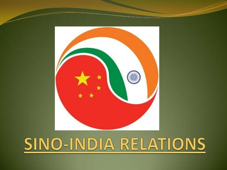 Sino india relations