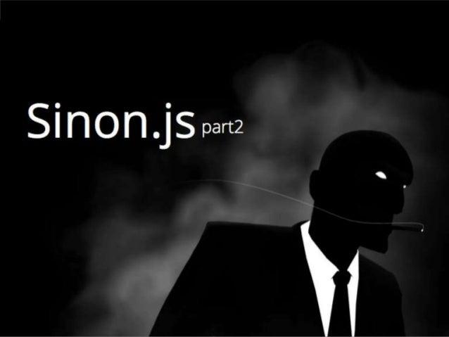 Javascript Test Double Sinon.js