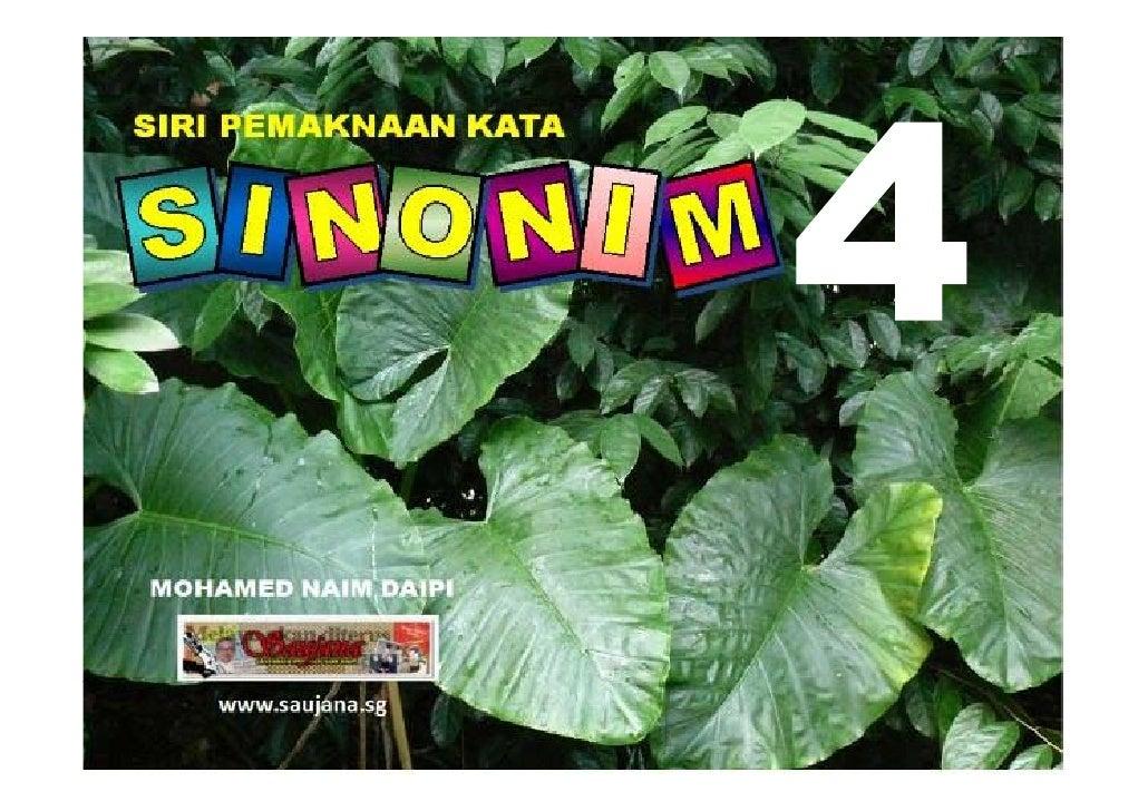 Sinonim P5/P6 Bilangan 4