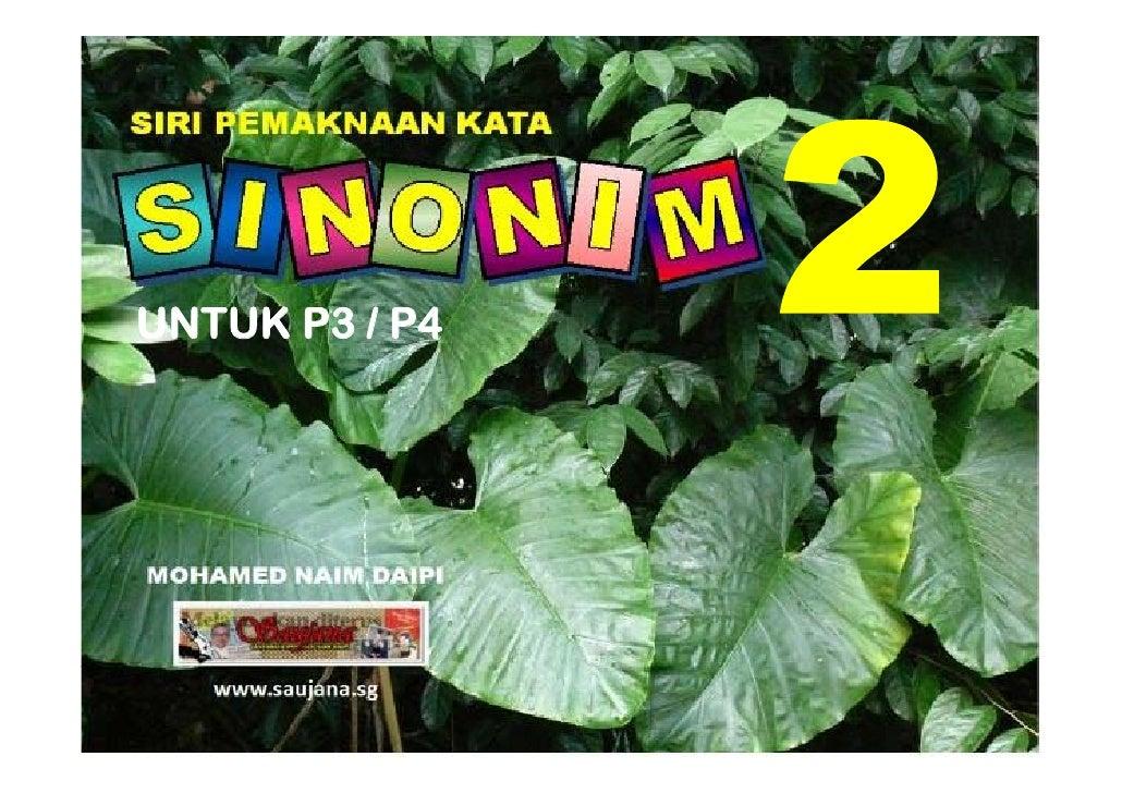 Sinonim P3/P4 bilangan 2