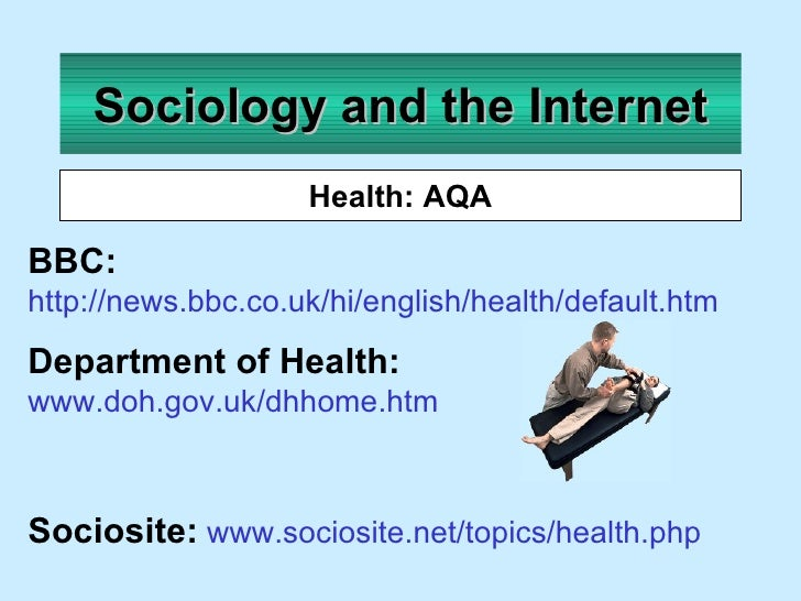 sociological perspectives of health and illness sociology essay Sociological perspective  sociological approach to health and disease sociology of health and illness wk 14 introduction.
