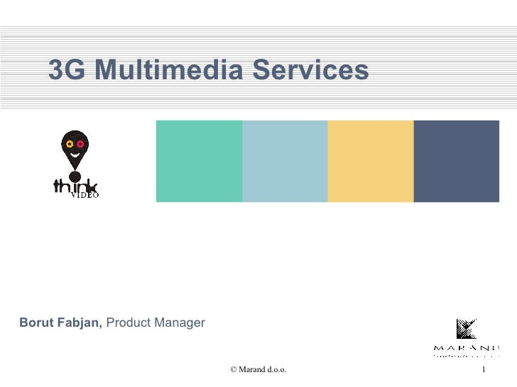 3G Multimedia Services