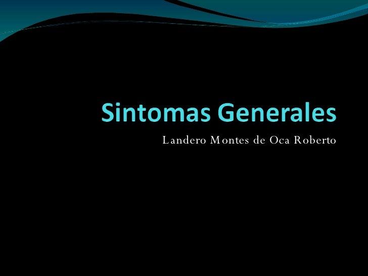 Landero Montes de Oca Roberto