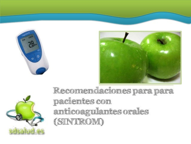 ¿CÓMO ACTÚA?   El SINTROM® (Acenocumarol) es un medicamento    que disminuye la capacidad de coagulación de la    sangre,...
