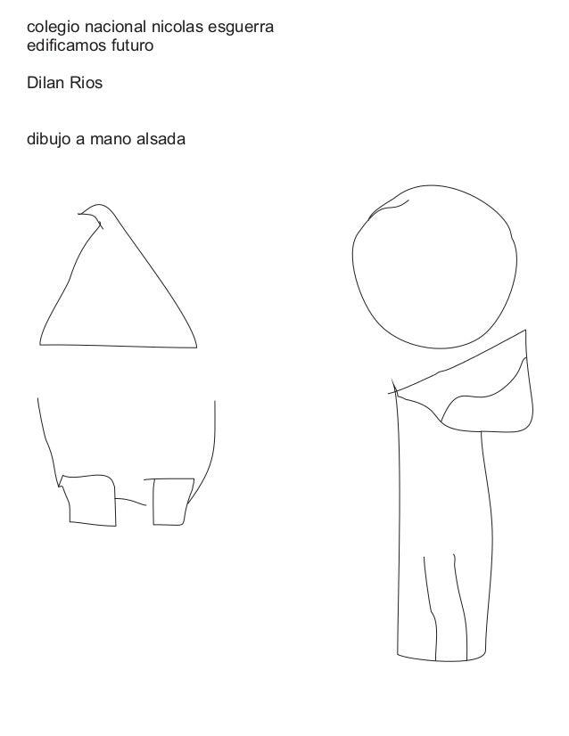 colegio nacional nicolas esguerra edificamos futuro Dilan Rios dibujo a mano alsada