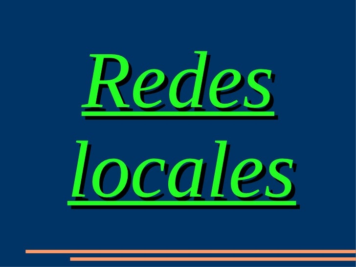Redeslocales