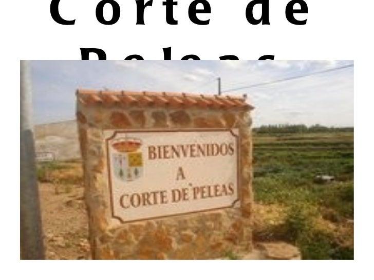 Tierra de Barros: Corte de Peleas, Entrin Alto y Bajo