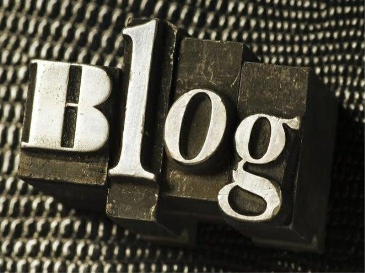 ¿QUE ES UN BLOG?Un blog es un sitio web periódicamenteactualizado que recopila cronológicamentetextos o artículos de uno o...