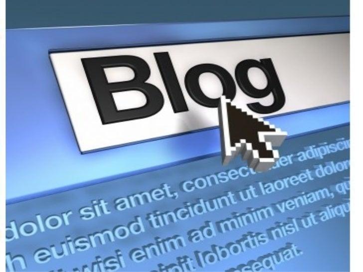 Tutorial sobre:   ·Blogger  ·Slideshare  ·Calameo