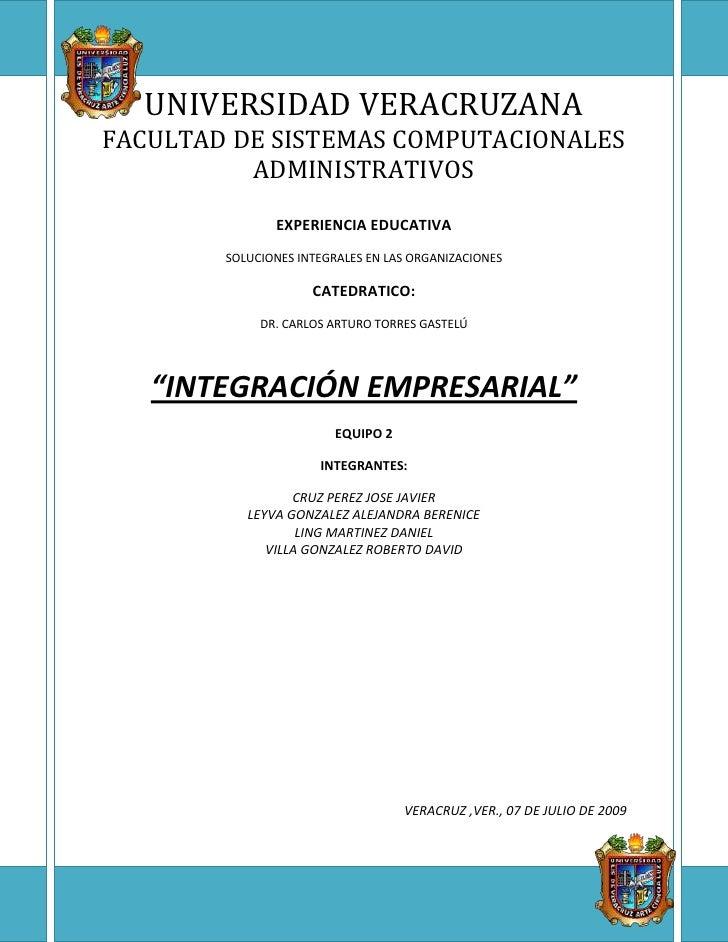-422107-624373UNIVERSIDAD VERACRUZANAFACULTAD DE SISTEMAS COMPUTACIONALES ADMINISTRATIVOSEXPERIENCIA EDUCATIVASOLUCIONES I...