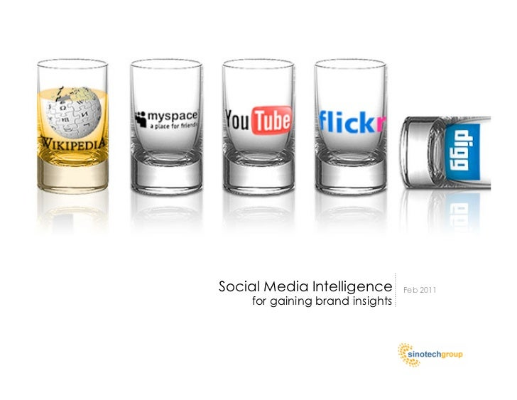 Social Media Intelligence        Feb 2011    for gaining brand insights