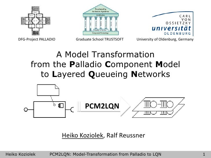 A Model Transformation from the Palladio Component Model to Layered Queueing Networks